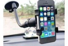 base celular coche